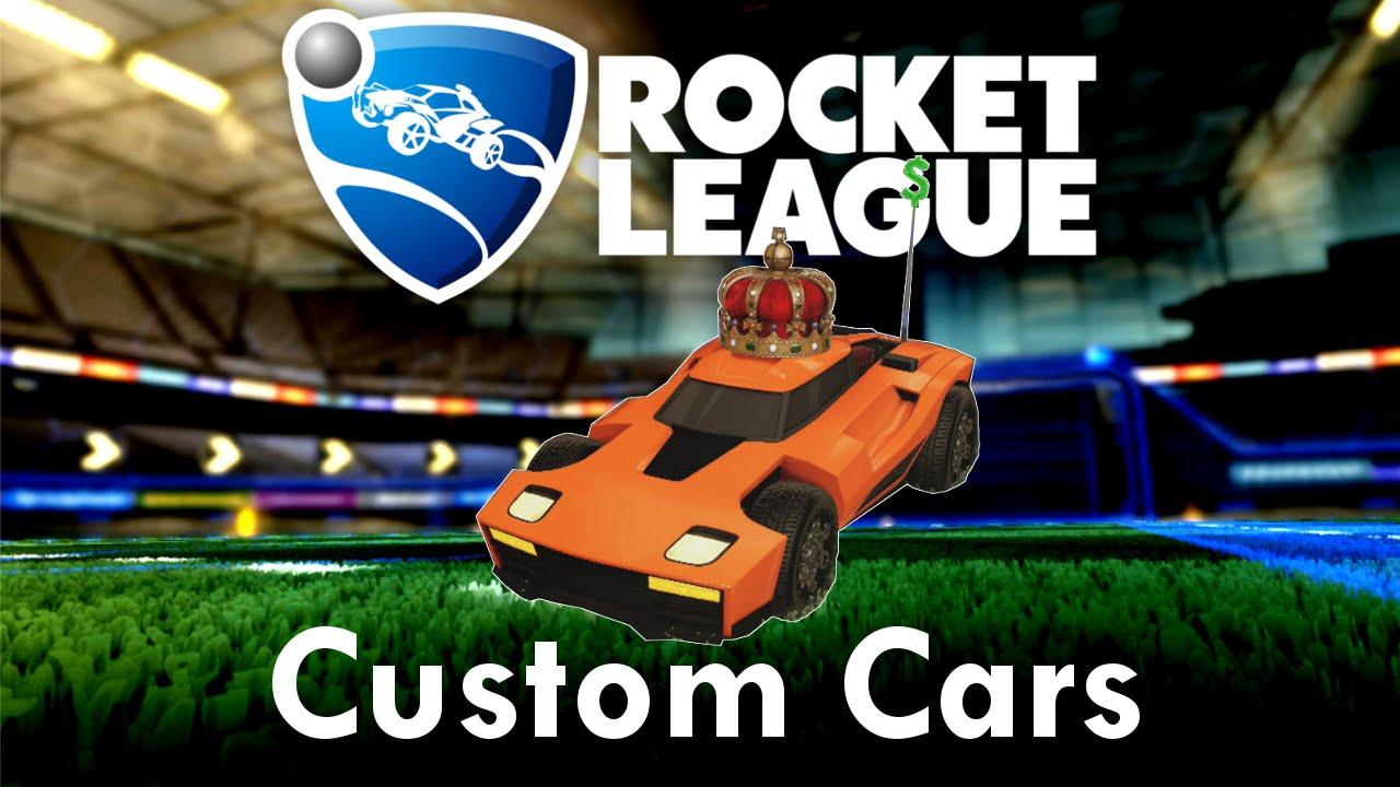 Rocket league custom cars billionaire s breakout