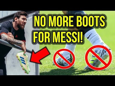 HERE'S WHY ADIDAS KILLED MESSI'S SIGNATURE BOOTS!