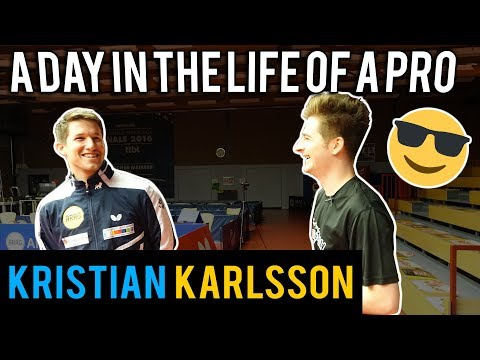 Day in the Life of a Pro Table Tennis Player | Kristian Karlsson