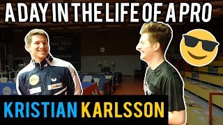 A Day in the Life of a Pro Table Tennis Player | Kristian Karlsson