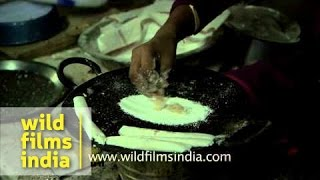 Making of Pithas - Special rice cake of Assam