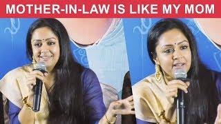 I was Comfortable with Ajith,Surya & Madhavan – Jyothika | Kaatrin Mozhi