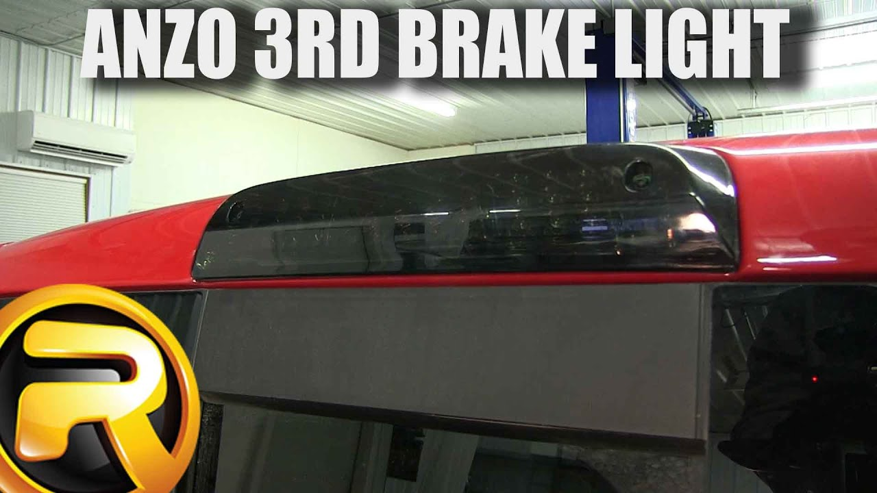 How To Install The Anzo 3rd Brake Light Youtube