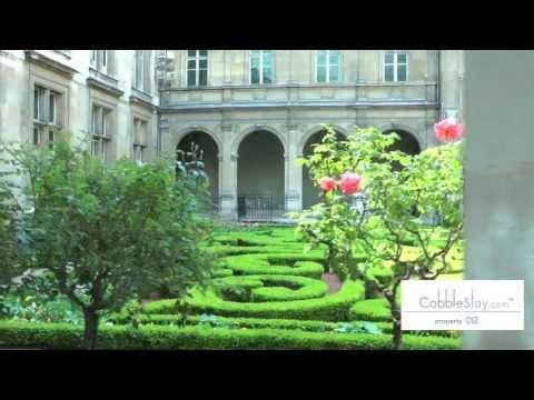 Paris Apartment Rentals Short Term | Virtual tour  012 Private Terrace Amelot