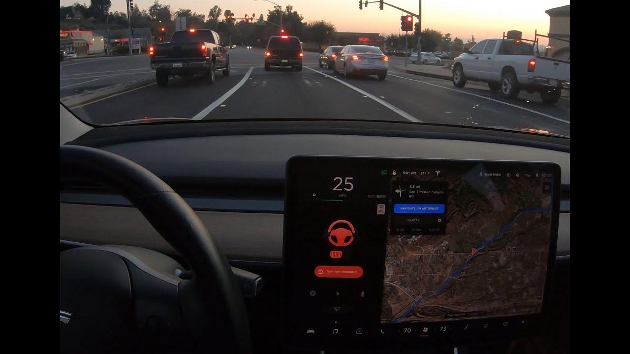 Tesla Autopilot Fails and Disengagements - Compilation - 2019-40-50