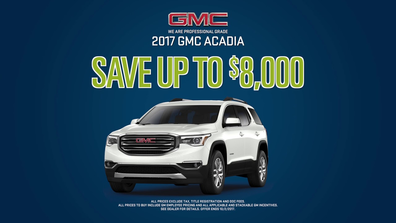 Todd Wenzel Gmc >> Low Lease Specials B Todd Wenzel Buick Gmc Of Grand Rapids Youtube