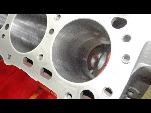 Engine Rebuilding Studebaker 289 - Machine Work