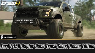 The Crew 2: Ford F-150 Raptor Race Truck Ghost Recon Edition | FULLY UPGRADED | GHOST ROAD PRIZE