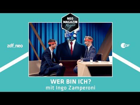 Wer bin ich? mit Ingo Zamperoni    NEO MAGAZIN ROYALE mit Jan Böhmermann - ZDFneo