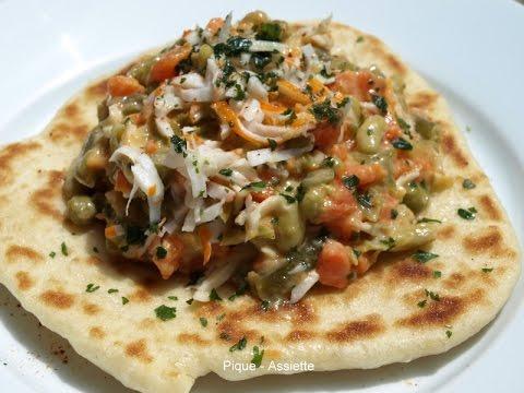 repas-pain-libanais-viande-haché