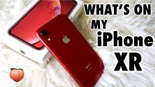 Whats on my iPhone XR 2019 Matildyyy