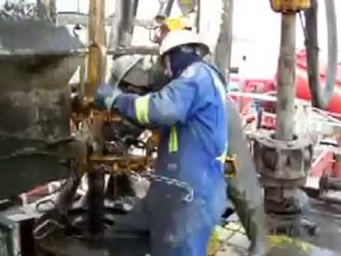 RIG DRILLING AND DEEP WELL PIPE CONNECTION TECHNIQUE – OFFSHORE