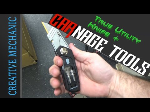 Best Box Cutter? True Utility Knife + from Carnage Tools vs the competition.
