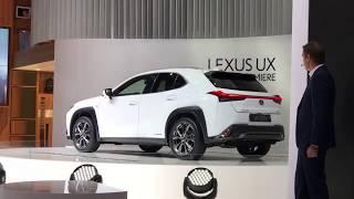 Lexus UX 2019 à Genève