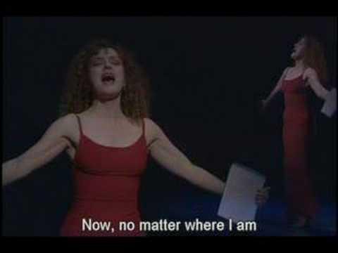 Unexpected Song- Bernadette Peter's Excellent Performance