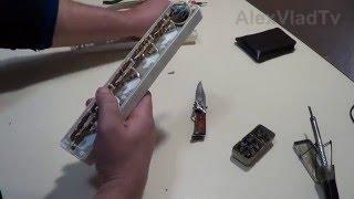 Желілік фильтр, жөндеу түймелер