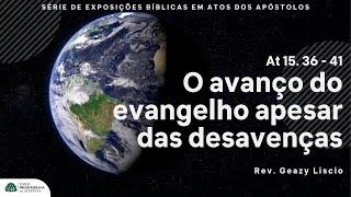 Culto noturno 18/07/2021   Rev. Geazy Liscio