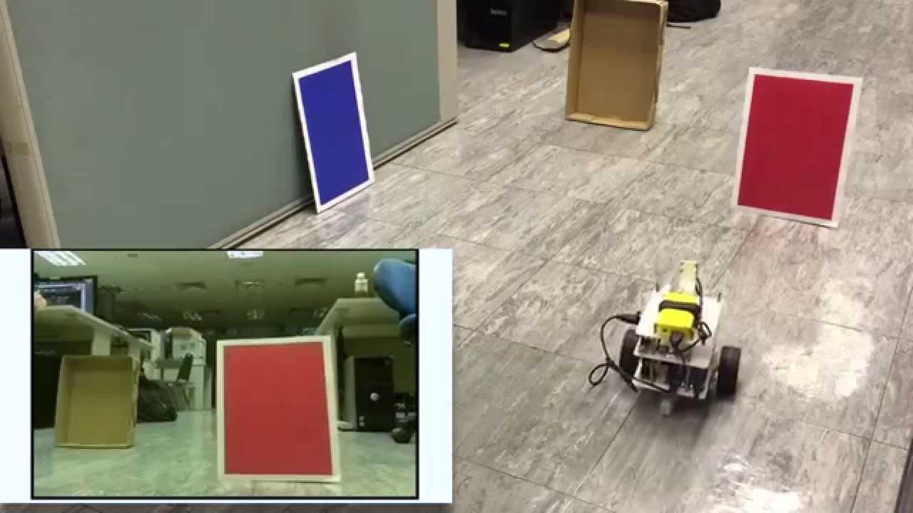 Tumbler version opencv color detection test raspberry