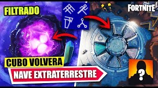 NEW SECRETS *NAVE IN BALSA BOTIN* THE CUBE WILL RETURN *FILTRATE* FORTNITE BATTLE ROYALE