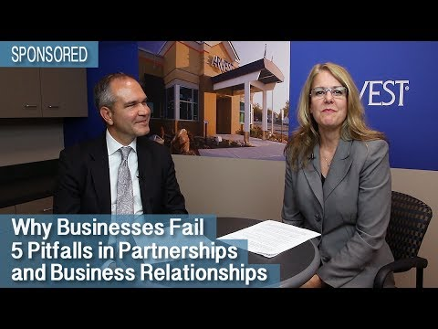 Why Businesses Fail - 5 Pitfalls in Partnerships and Business Relationships