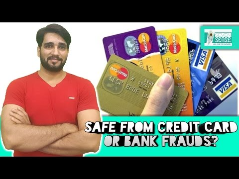 [Hindi] How to safe from bank frauds in india | Secure online banking