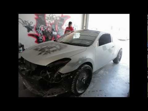 2010 Altima Coupe Candy Paint Under Construction By Sick City Kustoms El Paso Texas