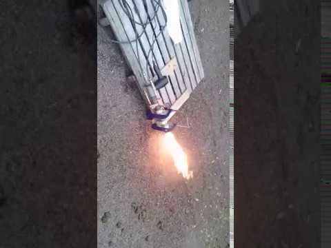 Queimador multicombustíveis (gás e óleo) - Homemade Gas and Oil Burner