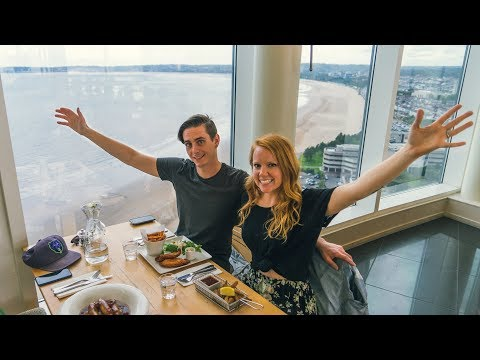 Lunch at the TALLEST BUILDING IN WALES! - Swansea, Wales