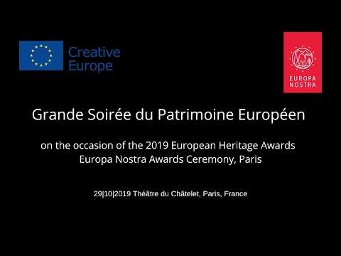 Live Stream Grande Soirée Du Patrimoine Européen / European Heritage Awards / Europa Nostra Awards