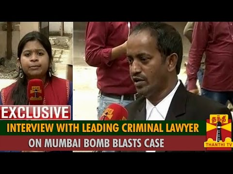 "Exclusive Interview with Leading Criminal Lawyer Ganesh Iyer on ""Mumbai Trains Blasts Case"""