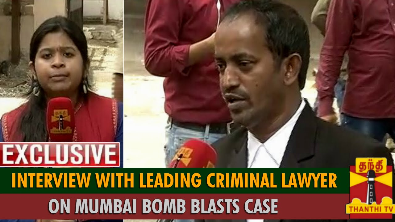 exclusive interview leading criminal lawyer ganesh iyer on exclusive interview leading criminal lawyer ganesh iyer on mumbai trains blasts case