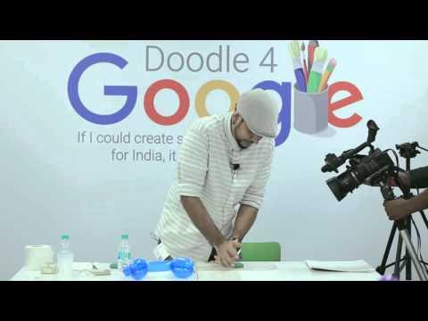 #Doodle4Google 2015 Finale Workshop