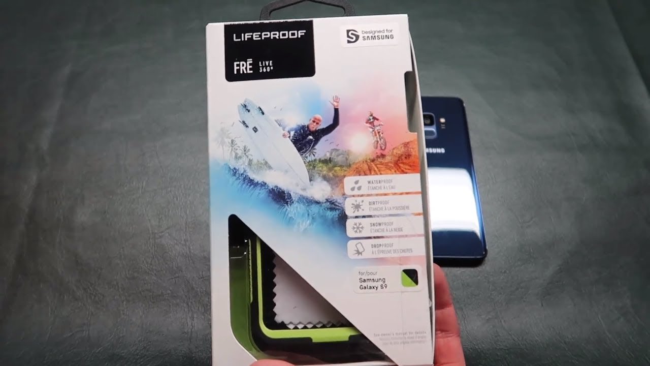 reputable site 40539 68ef4 Lifeproof Case for Samsung Galaxy s9 (Review)