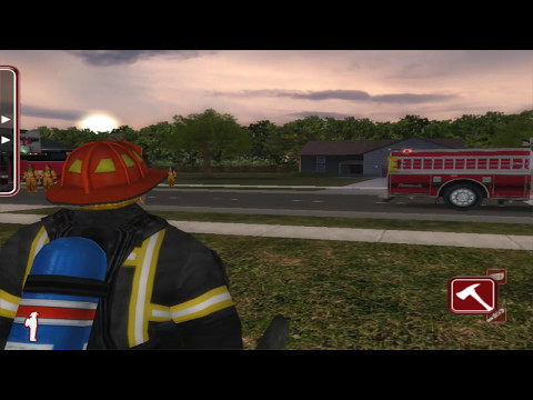 FLAME-SIM - Fire Department Training Simulation Software - DEMO
