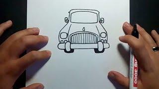 Como dibujar un coche paso a paso 3 | How to draw a car 3