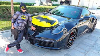 Vlad and story about Superheroes Car