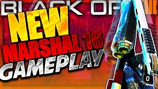 "NEW ""MARSHAL 16 GAMEPLAY"" In Black Ops 3 - BO3 NEW PISTOL SHOTGUN GAMEPLAY - NEW Supply Drop Weapons"