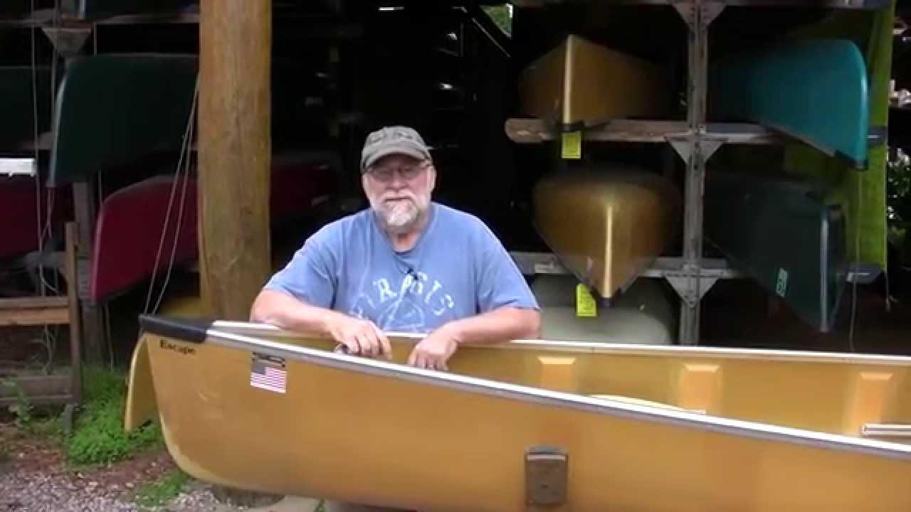 Wenonah Escape Canoe Boundary Waters Catalog