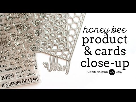 Product & Card Close-Up: Honey Bee