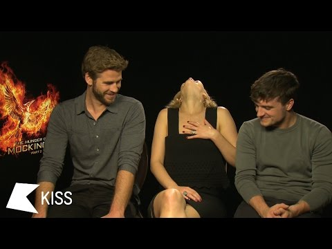 The Hunger Games: Mockingjay Pt. 2 Stars Chat To KISS