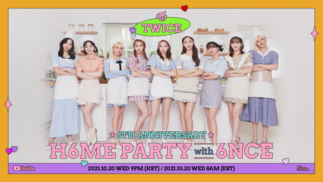 Download TWICE 6th Anniversary: H6ME PARTY with 6NCE