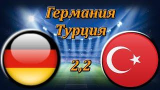 Германия Турция Прогноз и Ставки на Футбол 7 10 2020