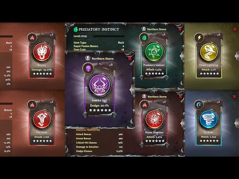 The Skill Items You Need! Dungeon Hunter 5: Back And Bracer Skills Tier 5 And 6