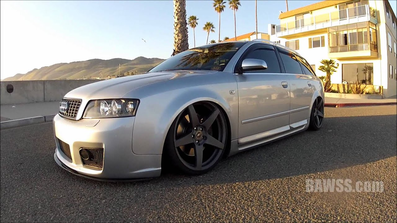 Bawss Com S Audi S4 Avant Wagon On Air Accuair Airlift