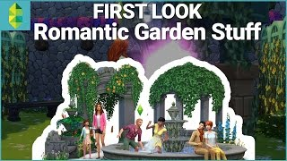 First Look - The Sims 4 Romantic Garden Stuff
