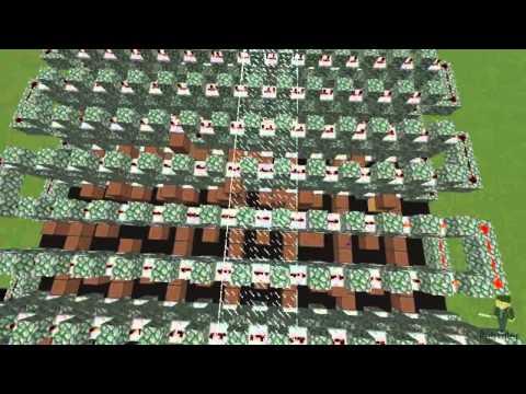 Minecraft Note Blocks: Mad World - Gary Jules