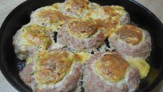 ✅Котлеты гнёзда - вкусное мясное блюдо/ Cutlets nests - a delicious meat dish