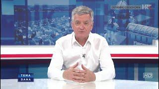 Gradonačelnik Željko Burić u Temi dana