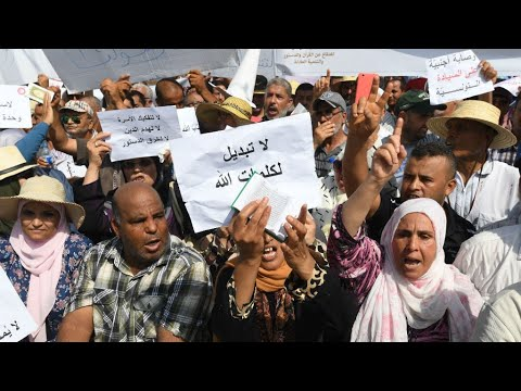 آلاف التونسيين يتظاهرون ضد إصلاحات لجنة رئاسية تقترح المساواة في الإرث  - 11:23-2018 / 8 / 13