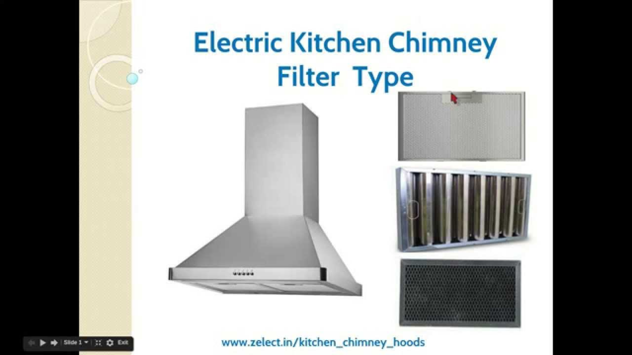 Kitchen Chimney Hood Filter Types YouTube